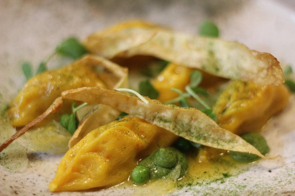 ravioli sardi filled with roast parsnip, peas, pecorino sardo1.jpg