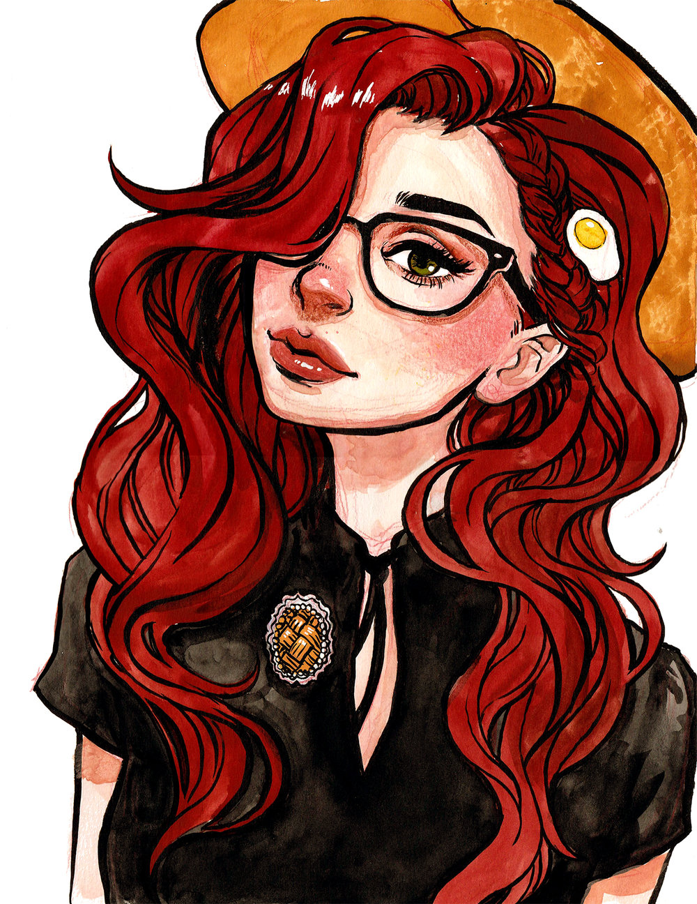 Comic Artists With Glasses