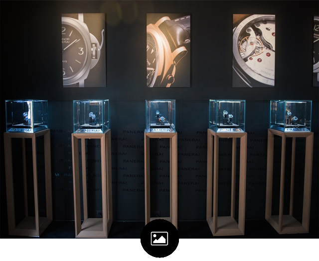 PANERAI, Pop up store May 2014