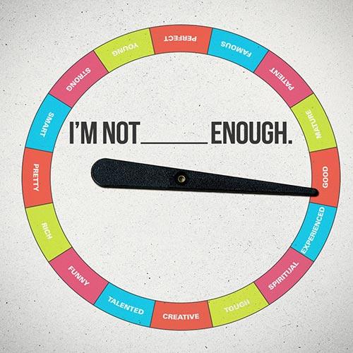 jeg er ikke god nok