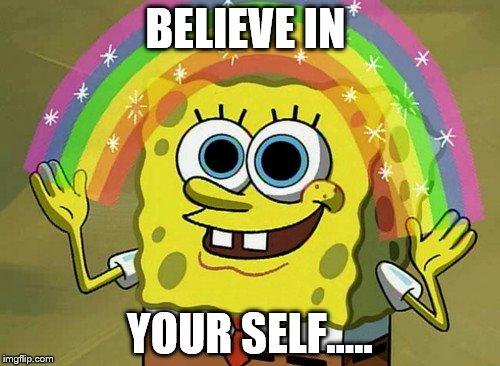 spongebob believe