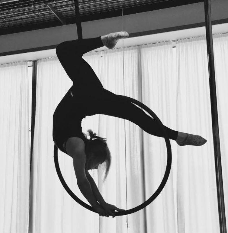 Inga in the aerial hoop.JPG