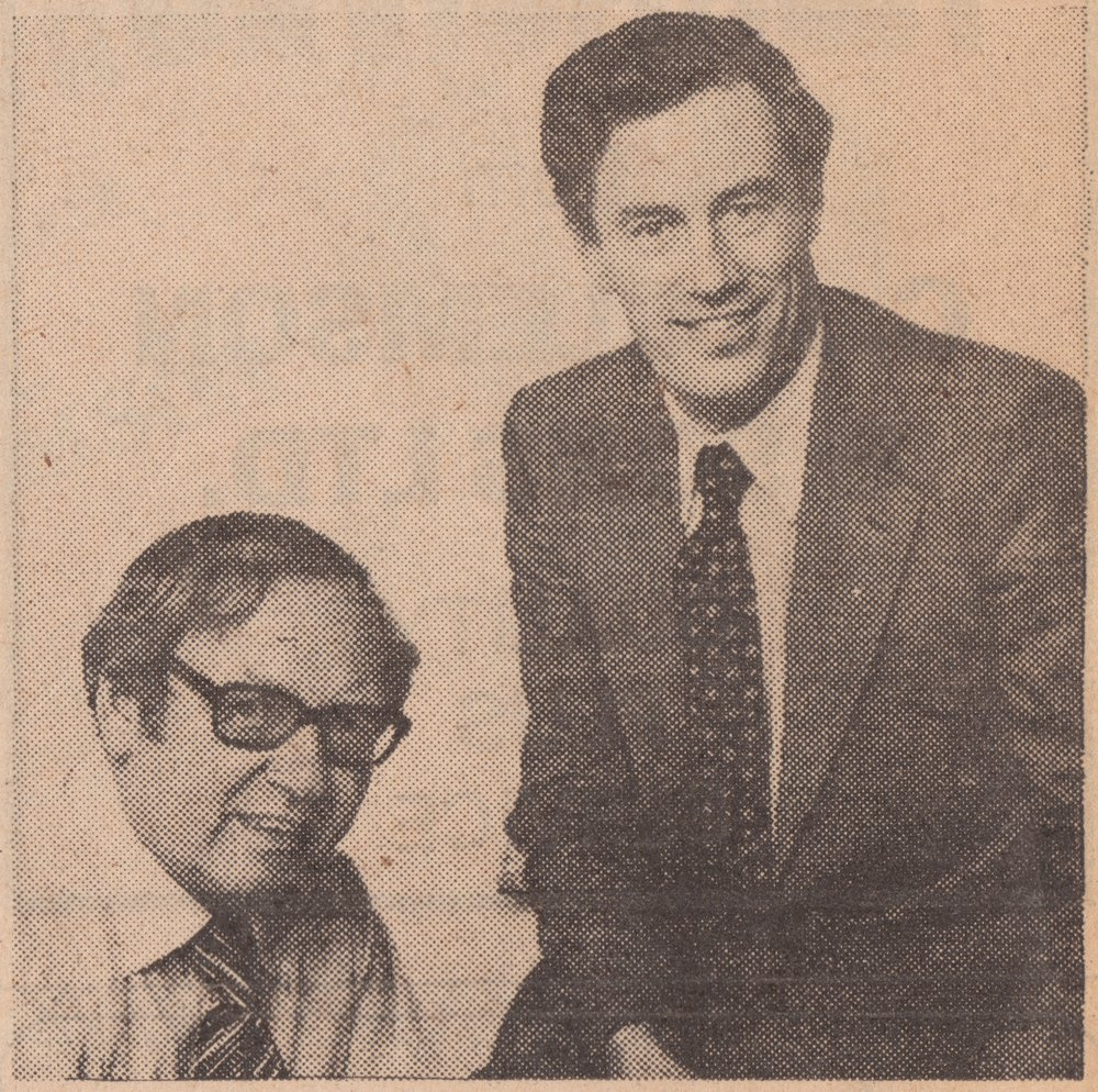 Co-founders John Twallin and Arthur Clemson