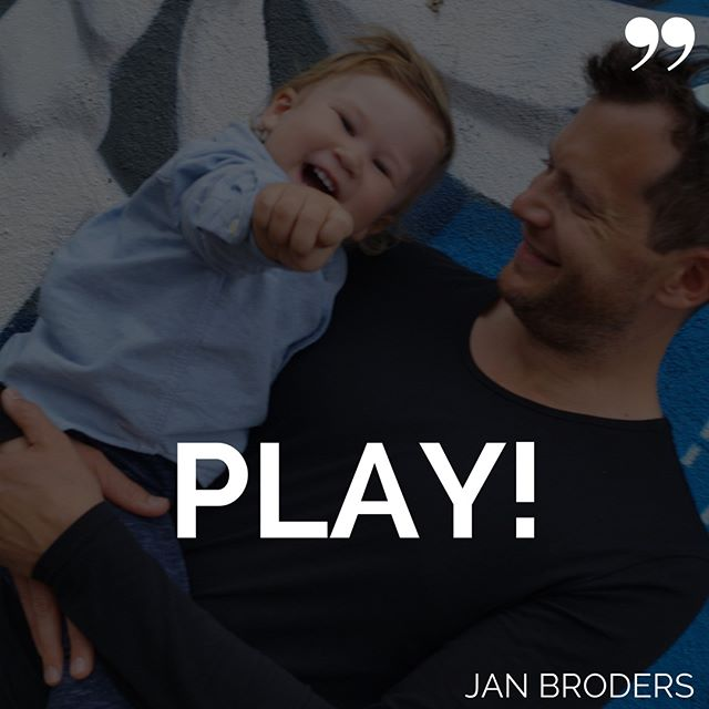 When speaking with my coaching clients I love challenging them to turn anything they do (especially when they hate doing it) into a game. Or better: play. : It's not a game where one wins and one loses. : It's the way children would play. : Effortless. Curious. Joyful. : But how do you ever reach a goal that way? : If you make play a priority, making it your goal that whatever you do is as much fun as possible, you will reach your other, more quantifiable goal as well. : Probably even quicker. Because you'll enjoy putting work in. : I invite you to play: How can a task you feel you need to be doing become a play? : Choose one and try it out!