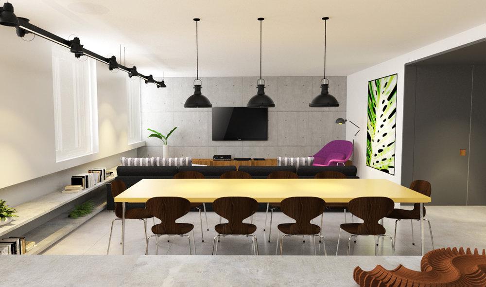 macroarq_arquitetura_interiores_projeto_apartamento_sao_paulo_jardins_higienopolis_sala_placas_de_concreto_estante_embutida_na_parede