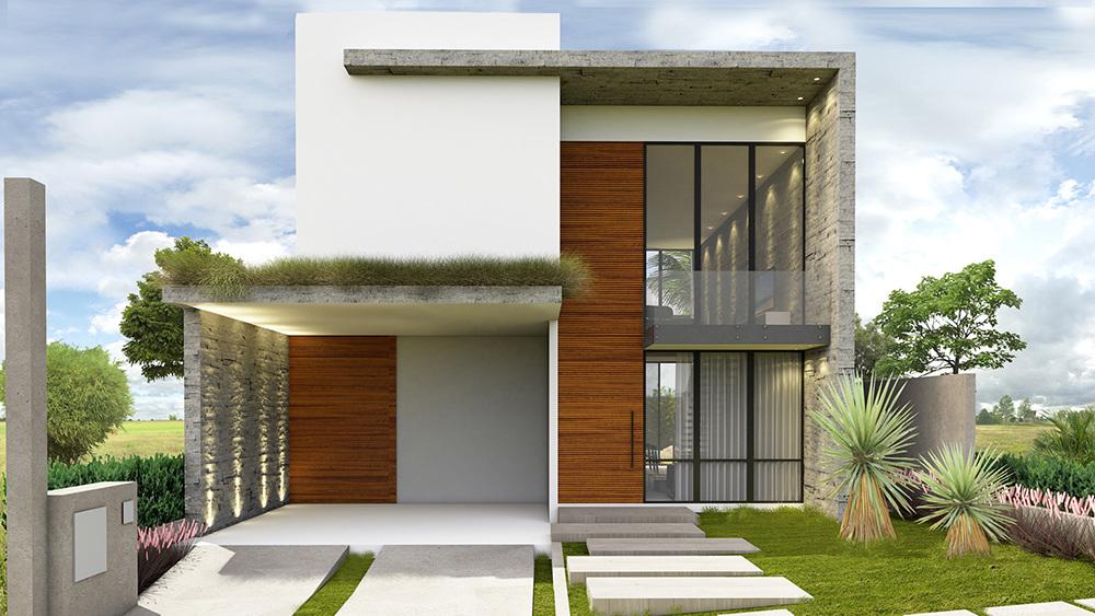 Um projeto contemporâneo, onde a cor branca ganha destaque em contraste com o concreto aparente e a madeira; - GOSTOU DESSA IDEIA?