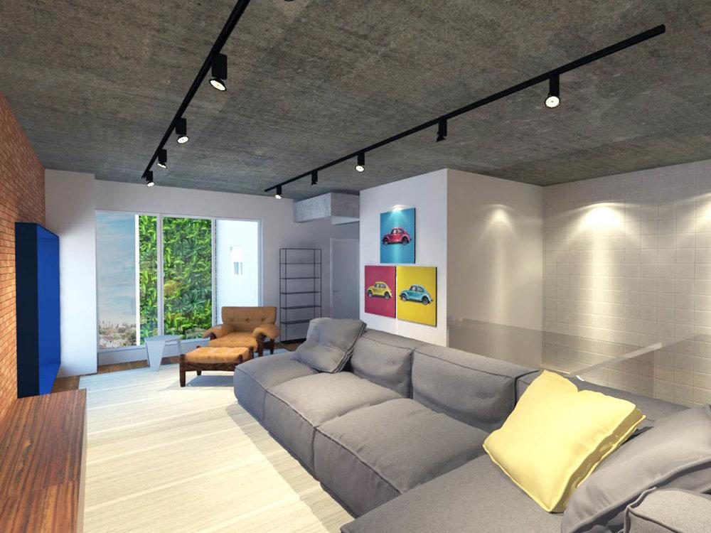 macroarq_arquitetura_projeto_interiores_sorocaba_cobertura_sala_de_tv_concreto_aparente_poltrona_mole_aparador_tijolinho_moldura_janela.jpg