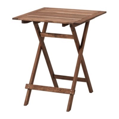Outside Wooden Table