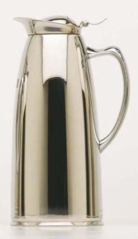 Chrome Coffee Flask