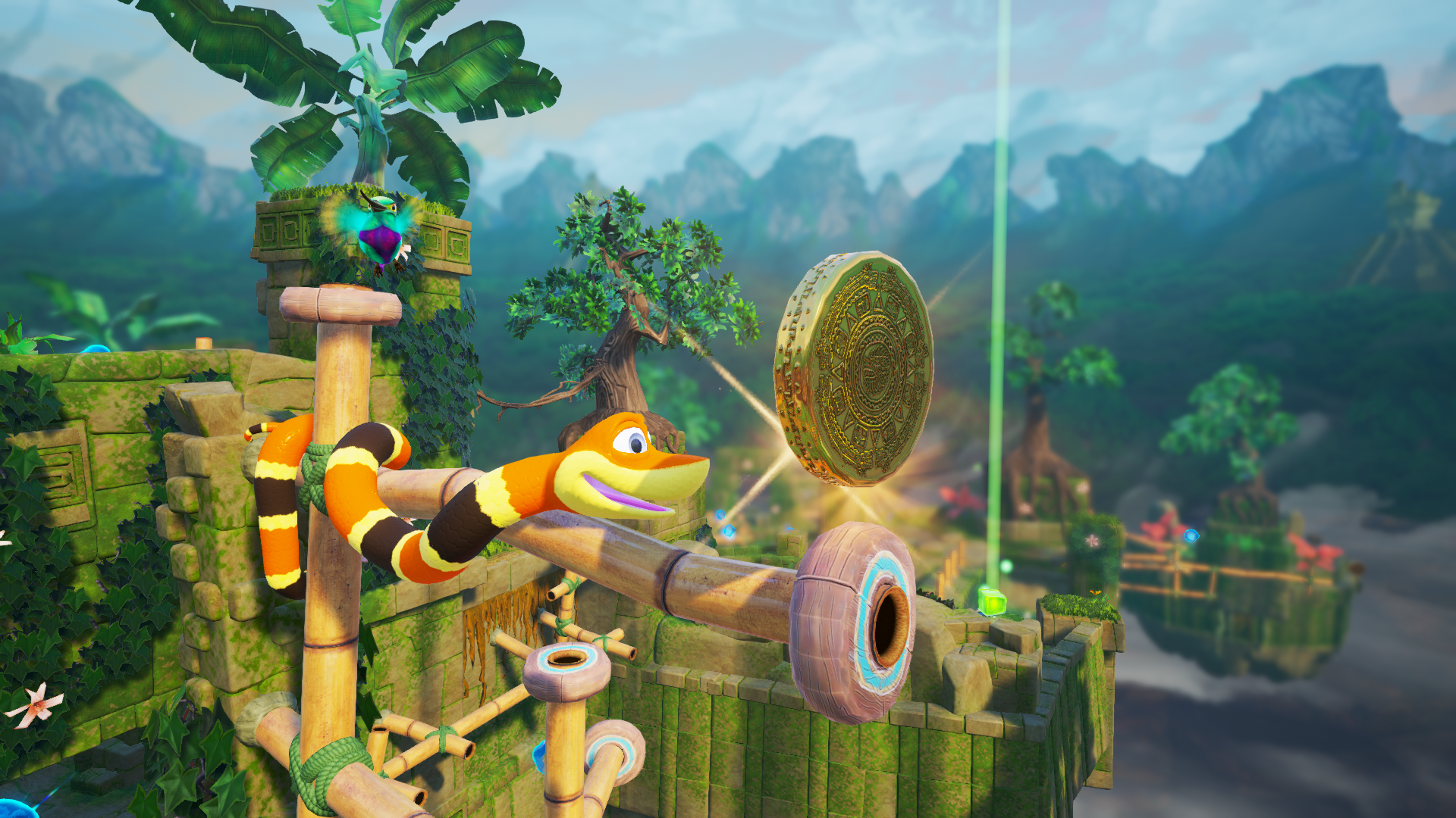 Exploring the world in Snake Pass