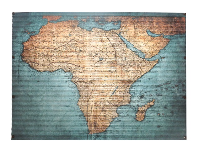 Africa Map - R550