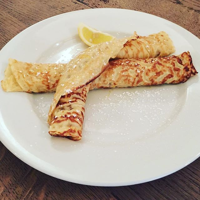 We will have some tasty pancakes specials for you on Tuesday 5th  March, including sausage and caramelised onion, creamy mushroom and blue cheese, rhubarb and custard and of course the classic - lemon & sugar  #shrovetuesday #pancakeday #treatyourself #thewaterpoet #lunchspecials