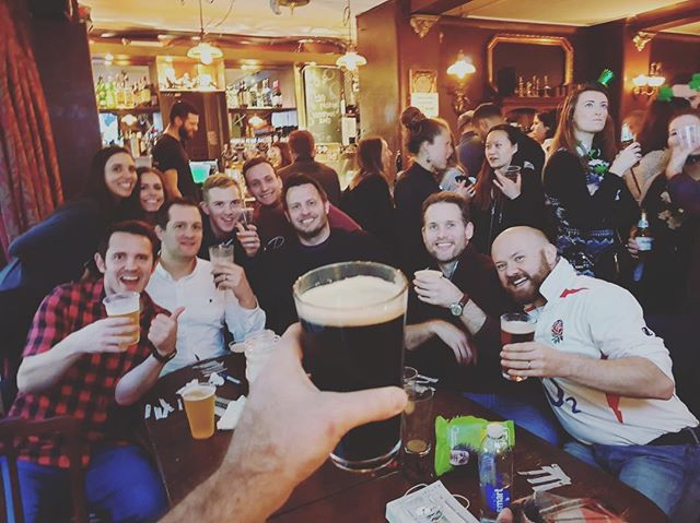 RT - Six Nations finals day 🏉 #rugby #sixnations #guinness #sixnationsfinalweekend #thewaterpoet #saturday