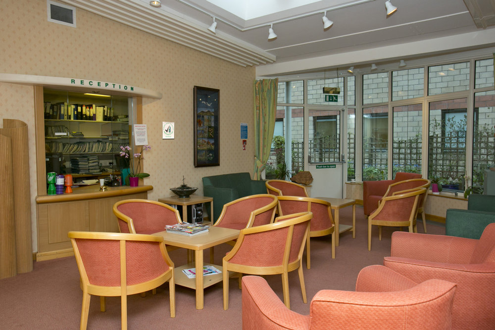 Borders Macmillan Centre Reception