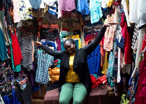 Lynette wanted to sell second hand clothes but didn't know where or how to get the funding she required. Odyssey Capital stepped and was able to provide her with the startup capital she required.