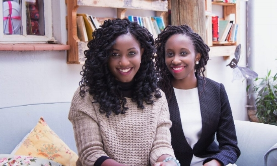 Mbula Nzuki (L) (Yakutti design partner) and Nkatha Gitonga (R) (Yakutti Founder & Managing Director)