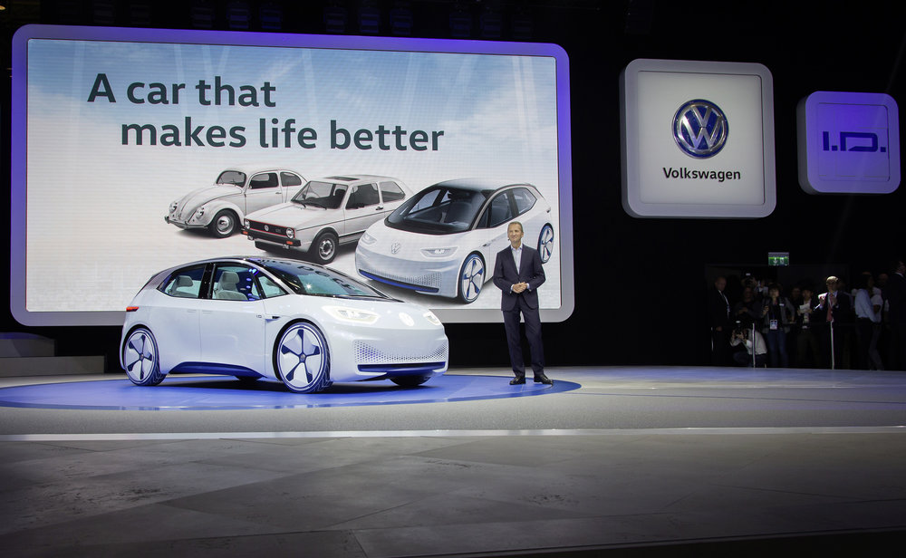 "On September 29th at 8.00, Volkswagen presented their newest additions to the product range. Amongst other things, the study ""I.D."" which is being announced as revolutionary as the beetle and the golf years ago. Nitro Booking was responsible to add the soundtrack to the press conference including music and off voices / voiceovers. The complete recording of the press conference is available on the following link: VW press conference paris 2016"