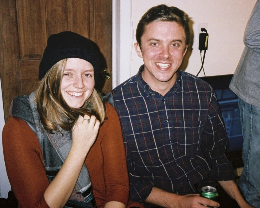 Photo of Emma and Sean by Creigh Lyndon.