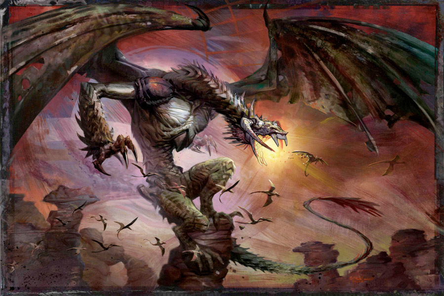 Bogardan Hellkite, Magic the Gathering