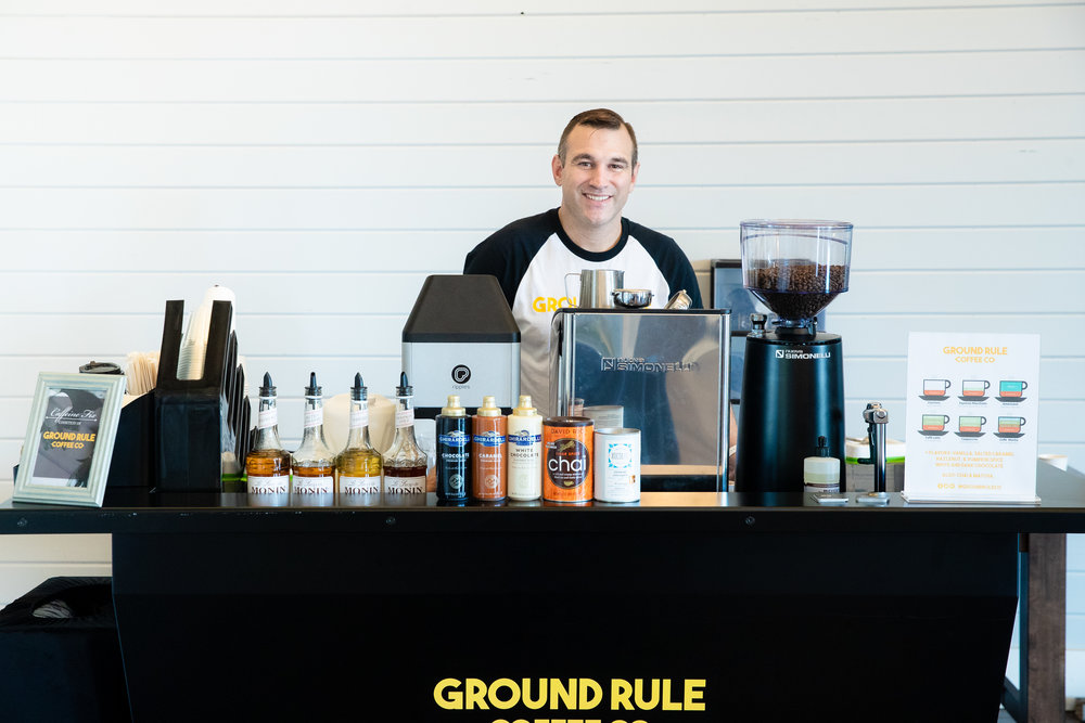 Mike Walsh at Foxhall Resort. Our Coffee/Espresso Carts are the perfect solution for Indoor Corporate Meetings, Office Functions, Weddings, Bar/Bat Mitzvahs, and/or to get your coffee fix where weather is a factor.