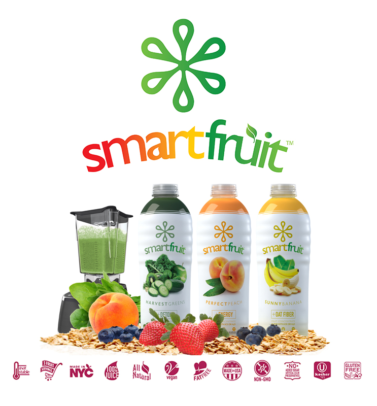 SmartFruit - The not-so-secret sauce to making our amazing smoothies. Inquire about adding our SmartFruit Smoothies to your next catering order!