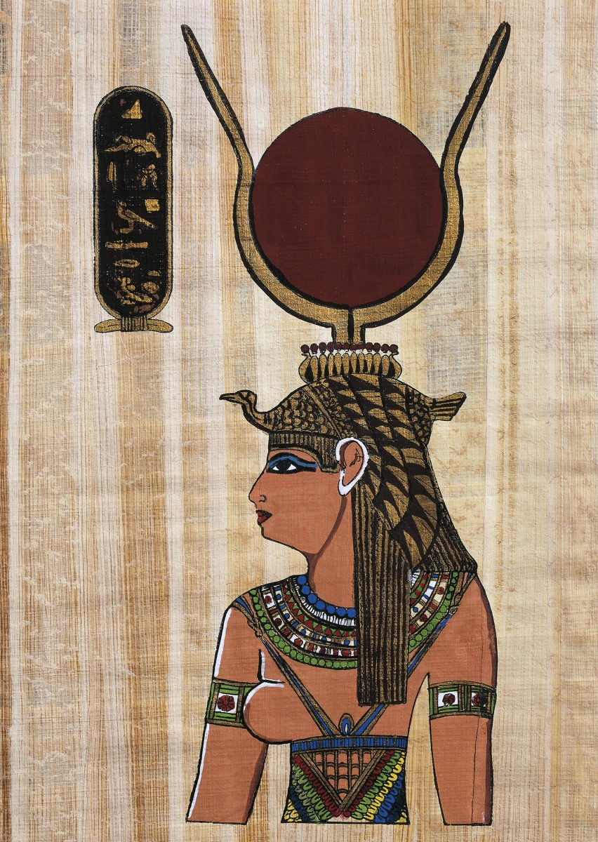 cleopatra-vii-papyrus-reconstruction-of-a-relief-from-the-temple-of-kom-ombo-original-dating-back-to-ptolemaic-period-egyptian-civilisation.jpg