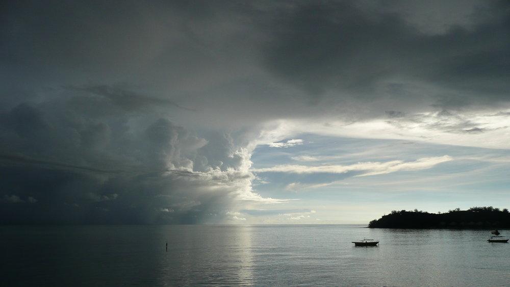 mana island fiji storm