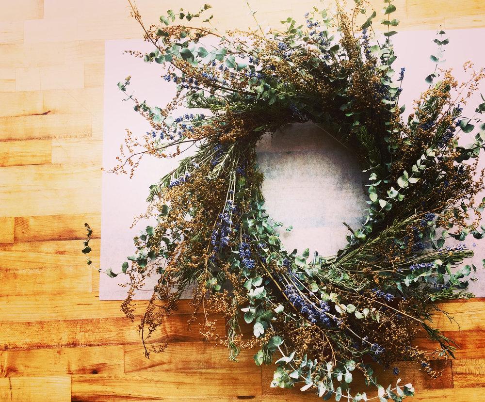 Local Wreath Making Class Ohio
