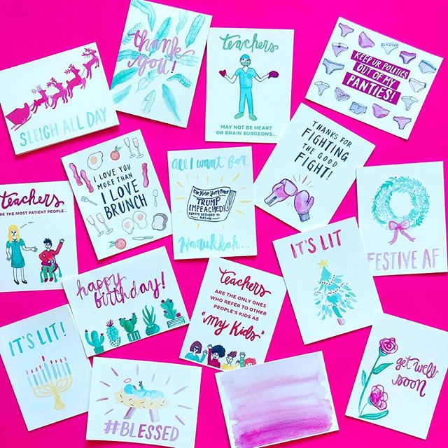 Hi! Announcing our Black Friday Deal - 30% off EVERYTHING on our site, including our brand new greeting cards for teachers and holiday cards! Just enter BLACKFRIDAY discount code at the checkout! Today only so get on it!!! 💥