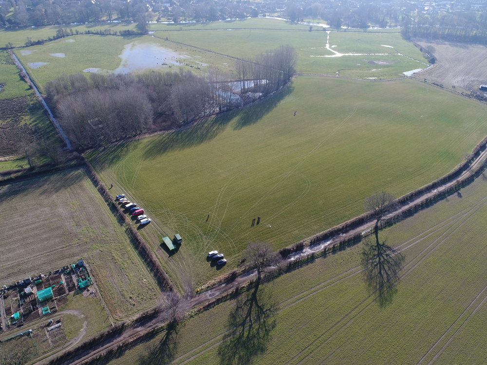 The south field at our Norwich drone training location