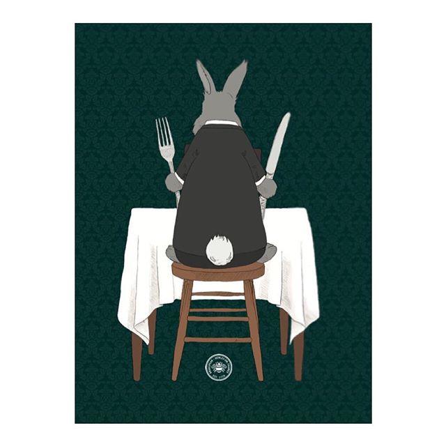 2/2 and the back! 😝 🐰 from a recent leaflet design and illustration for @brakspearpubs #veganuary • • • • •#illustrator #bunny #foodanddrink #drawing #draw #art #artist #artwork #portfolio #design #graphicdesign #davidattenborough #rabbit #restaurant #sketch #cartoon
