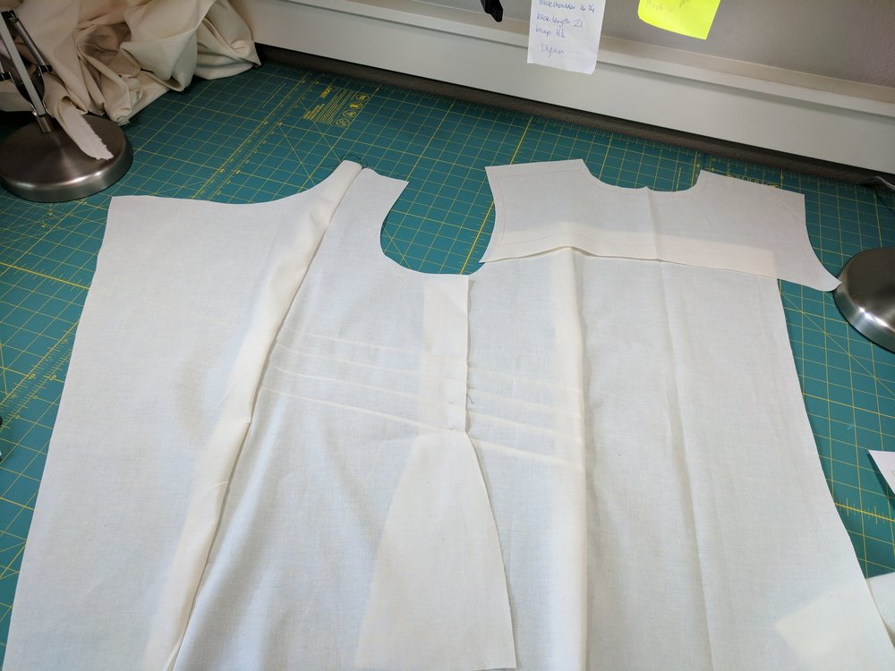 Side shaping seams