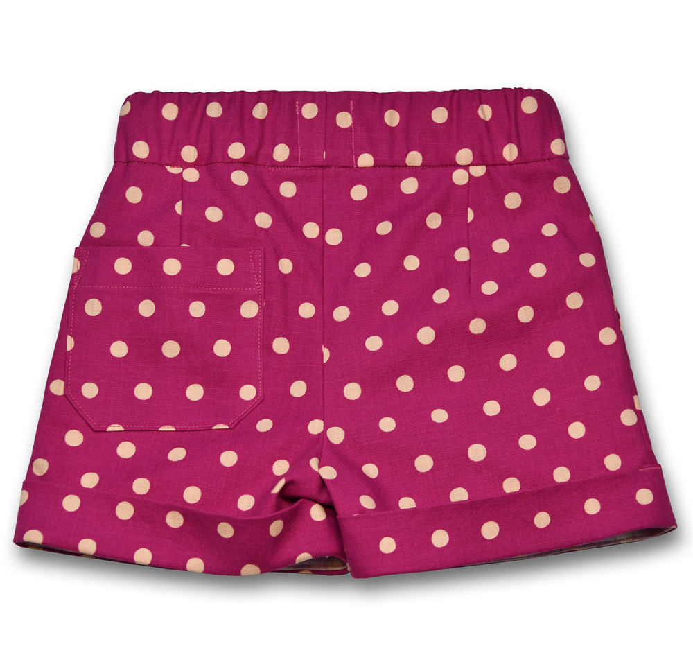 polka dotty shorts gee betty