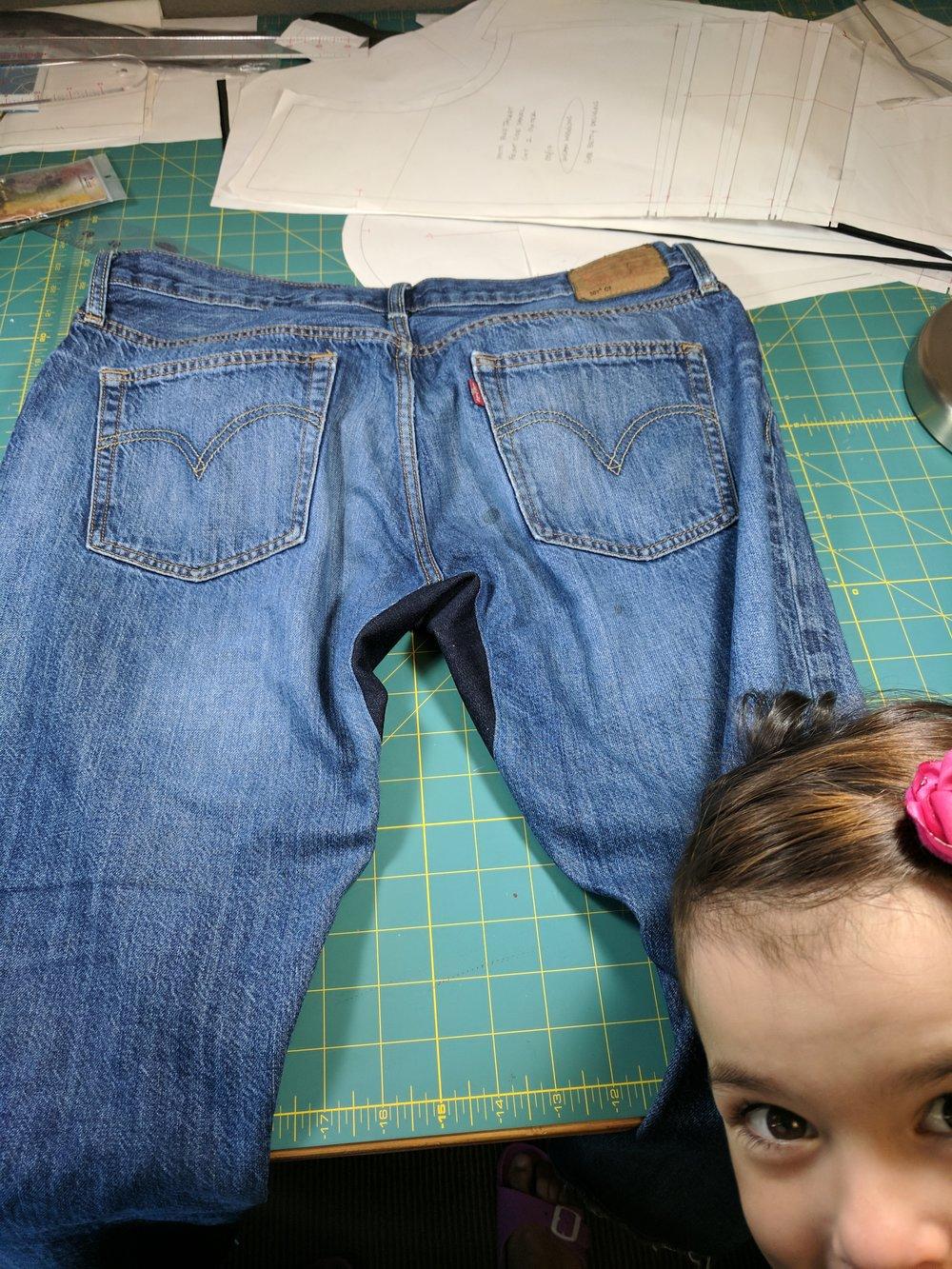 jeans repair