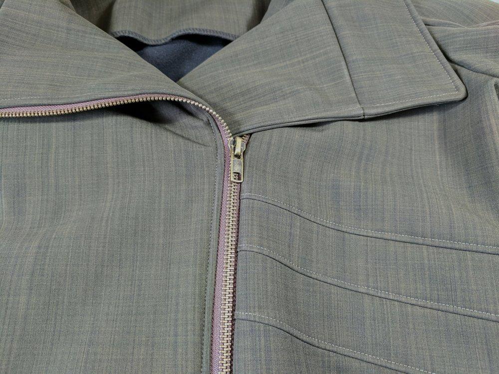 custom moto jacket