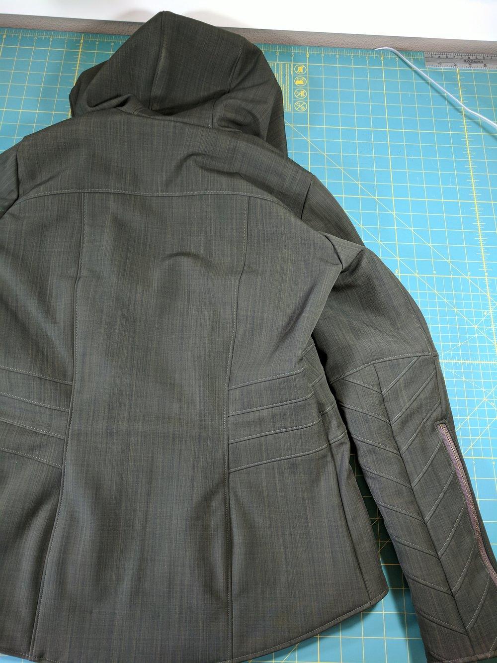 moto jacket details