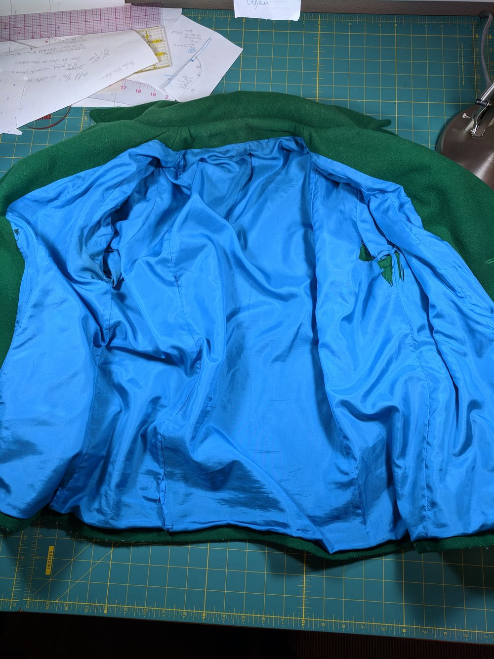 g betty coat lining