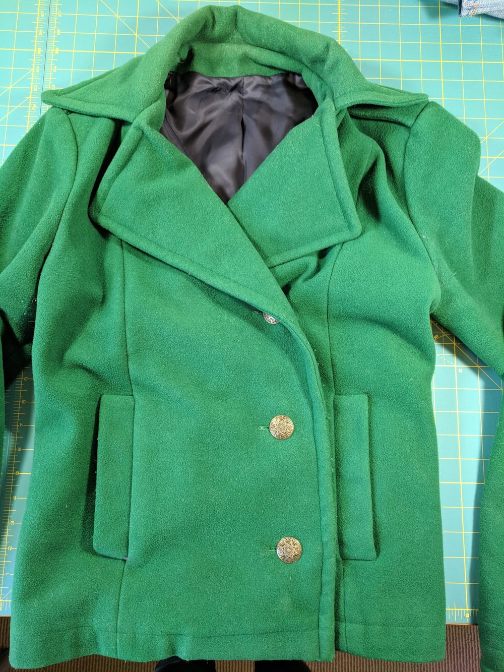 gee betty wool coat