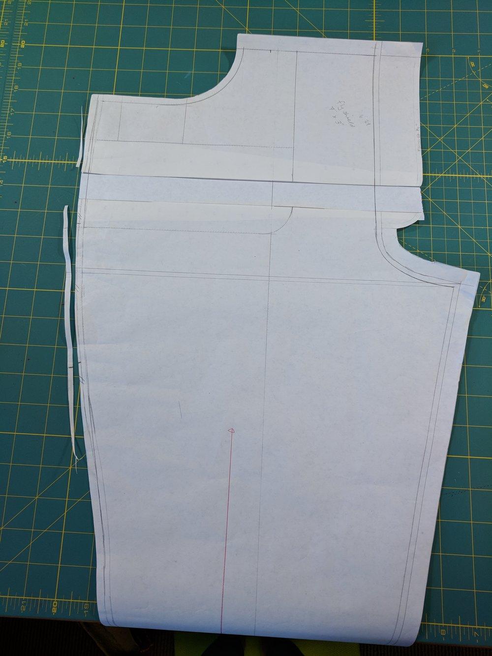 g betty custom jeans pattern