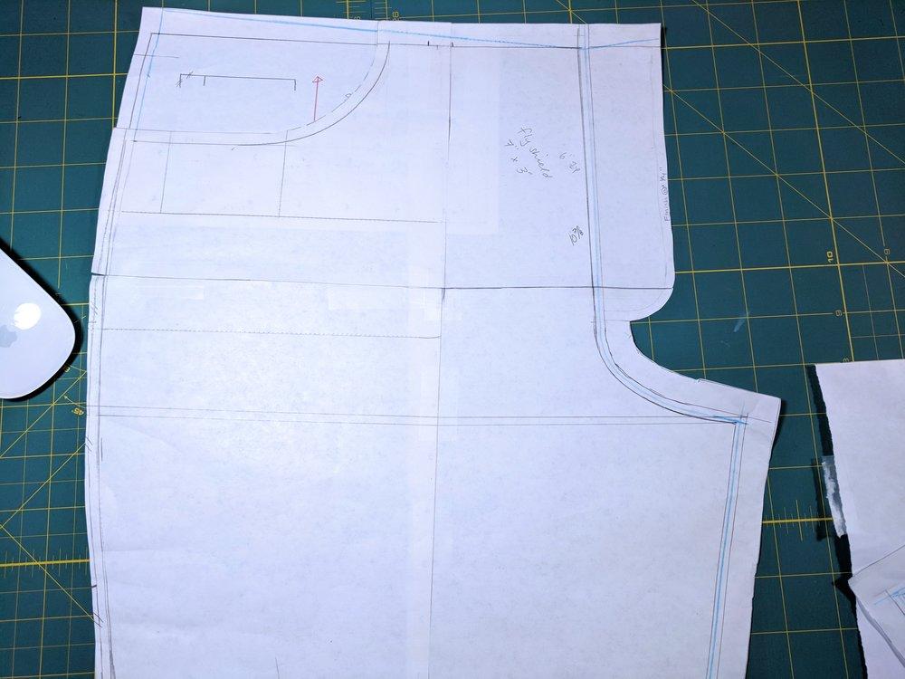 jeans pattern