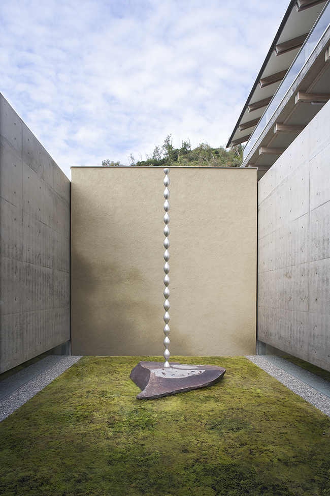 Concept of Moss,   Benesse House Park , Naoshima, 2009 -