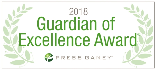 Cardiology Associates is proud to be recognized by Press Ganey as a recipient of the Guardian of Excellence award in Patient Experience since 2015.