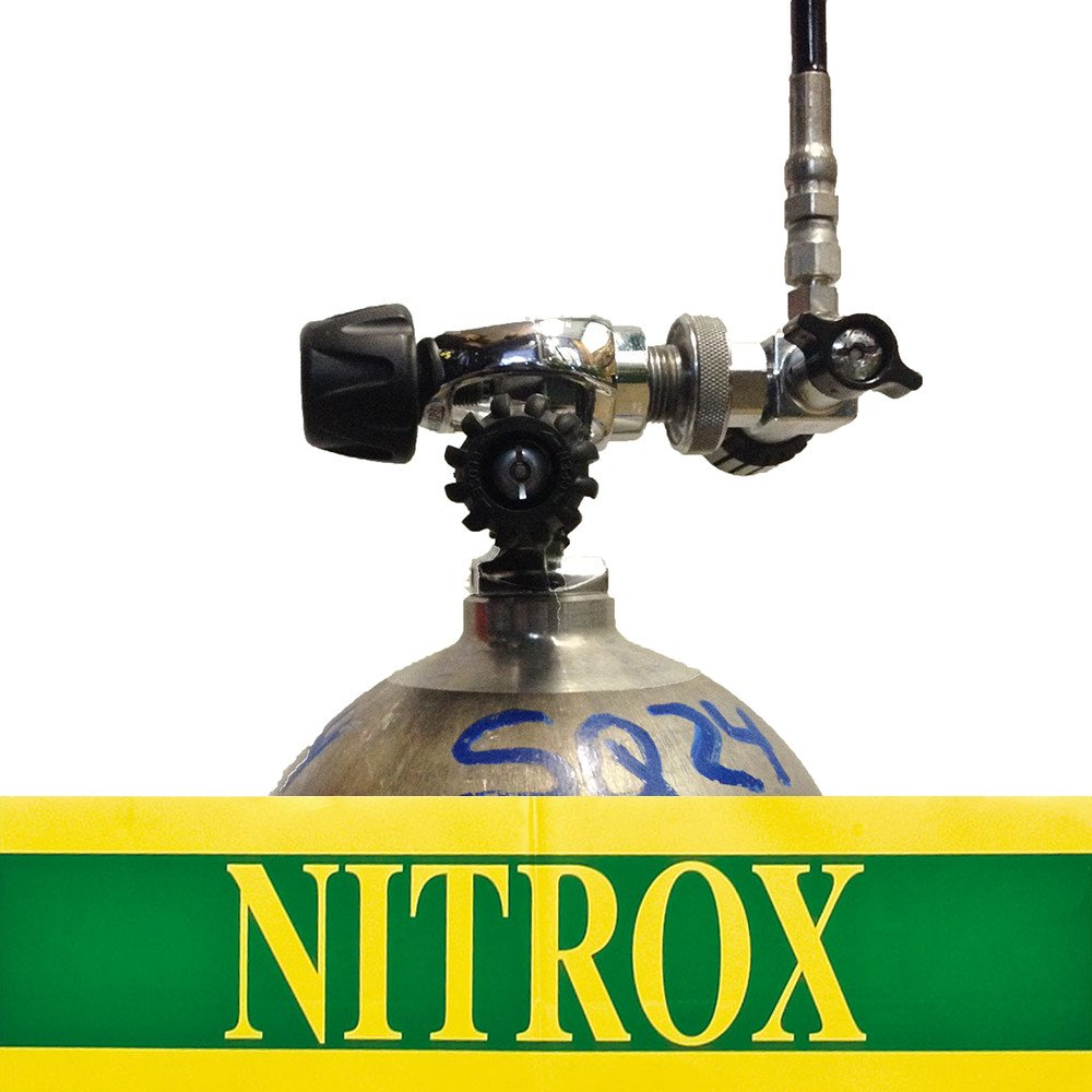 Nitrox and Trimix fills available