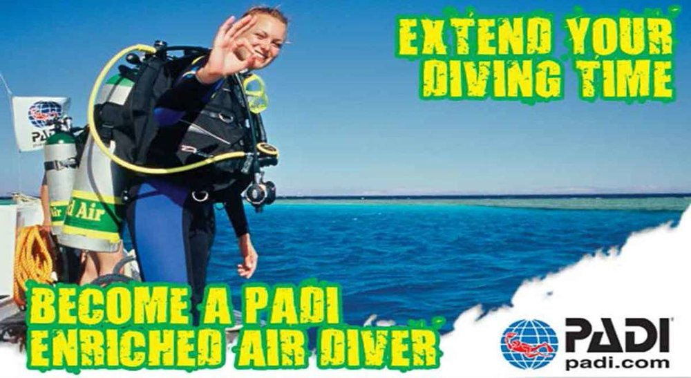 scuba diving in the caribbean with coconut tree divers in toatan, specialties diving nitrox and trimix
