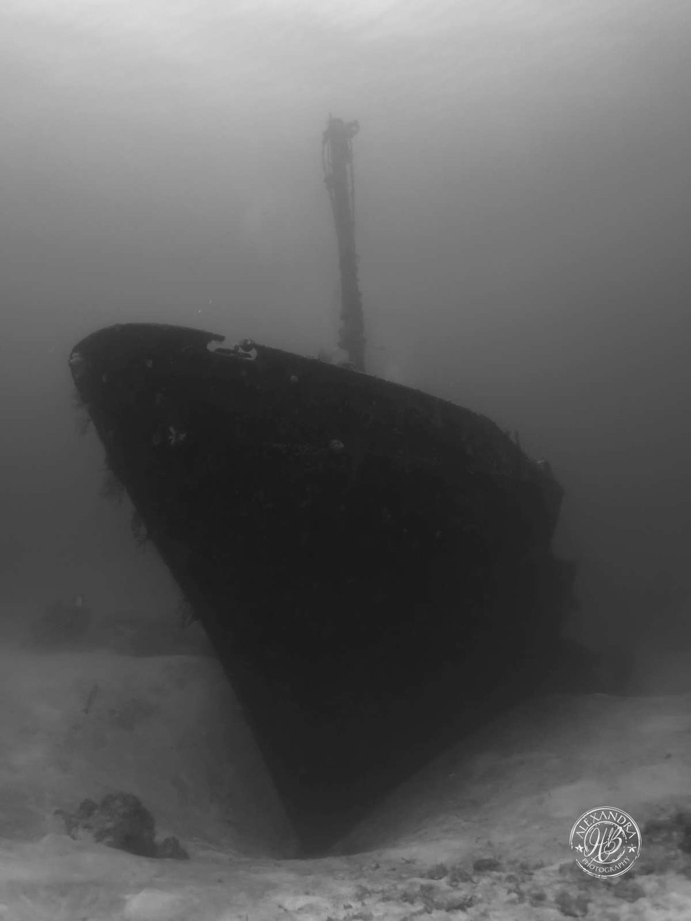 El Aguila Wreck Ghost ship b&w (May '16) (1 of 1).jpg