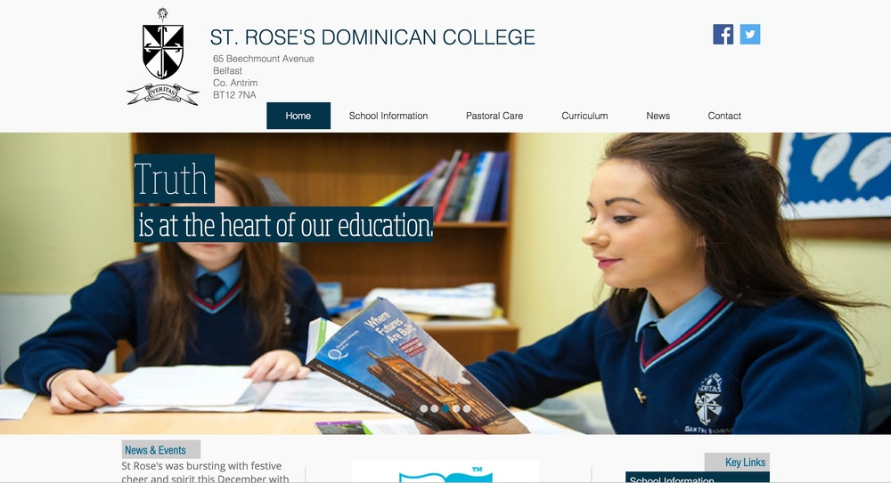 St Rose's Web