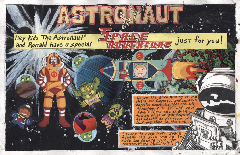 Astronaut In Love, Eleven