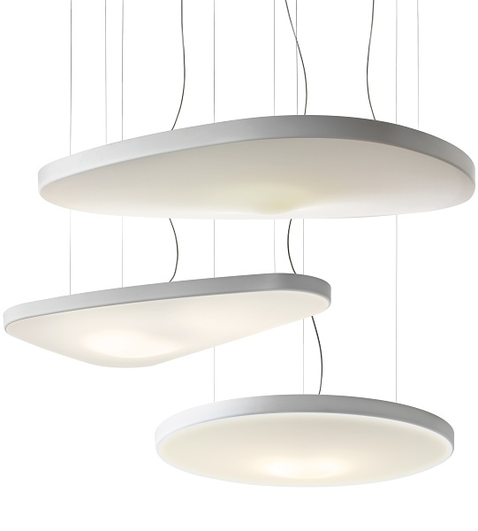 Luceplan   Decorative European styled architectural lighting for walls, ceiling and floor.