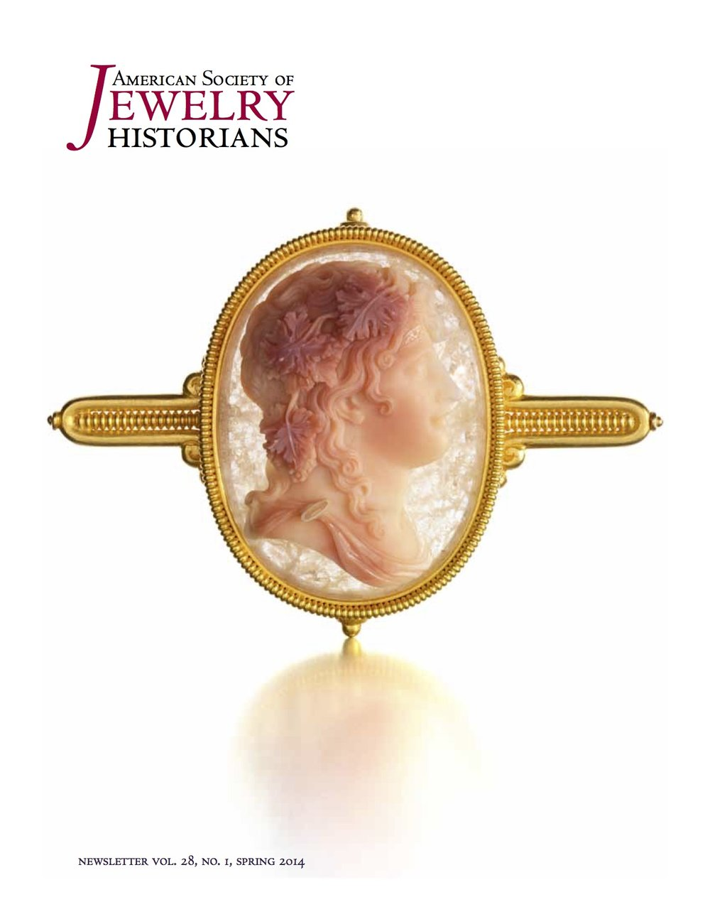 Featured piece: Archaeological Revival Gold and Chalcedony Cameo Brooch by Castellani, Rome, circa 1880