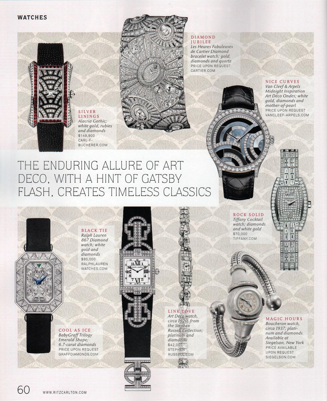 Featured piece: Platinum and Diamond Wristwatch by Boucheron, Paris, circa 1937